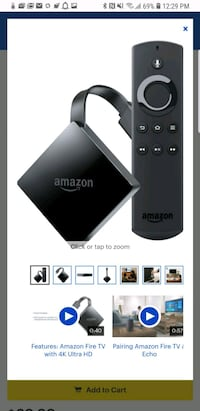 Amazon 4k TV  Vienna, 22182