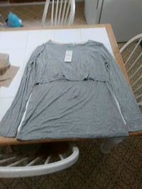 gray shirt new zs XL