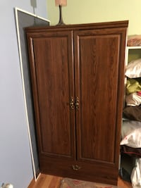 Large closet Brown wooden 2-door cabinet University Place, 98467