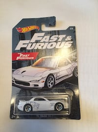 Hotwheels Fast and Furious Mazda RX7 Brampton