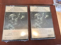Beethoven the nine symphonies sir George Solti Conducting the Chicago symphony orchestra Cassettes NEW Littleton, 80128