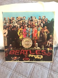 "the BEATLES ""Sgt. Pepper's"" Record! First 1967 Print! Visalia, 93291"