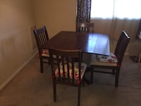 Dropleaf Dining  Set With  Four Matching Chairs RICHMOND