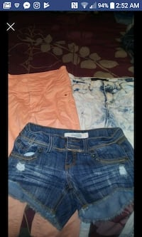 2 jeans 1 shorts size 2.
