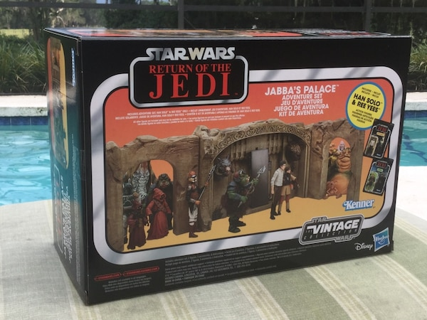 Used Star Wars Jabba S Palace Adventure Playset For Sale