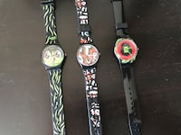 Children SWATCh watches. Very Good quality. Each for 30. Working perfectly. New battery installed. Ottawa, K2H