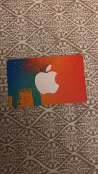 25.00 iTunes Gift Card