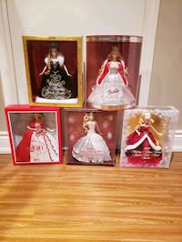 Holiday Barbie Dolls Vaughan, L6A 3H3