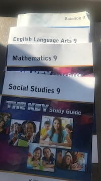 4 The Key study guide grade 9 Calgary, T2X 2E2