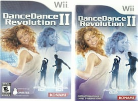 Wii Dance Revolution 2   Complete with game disc, manual, and case  EU