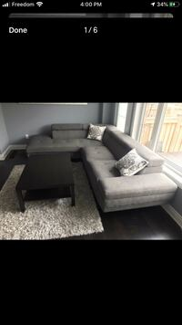 Sectional couch  Mississauga, L5N 3M4