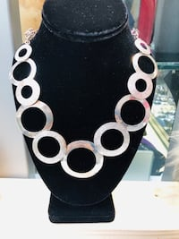 Elegant Pure and Solid Silver Necklace  Springfield, 22150