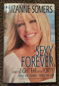 BN Sexy Forever Book by Suzanne Somers