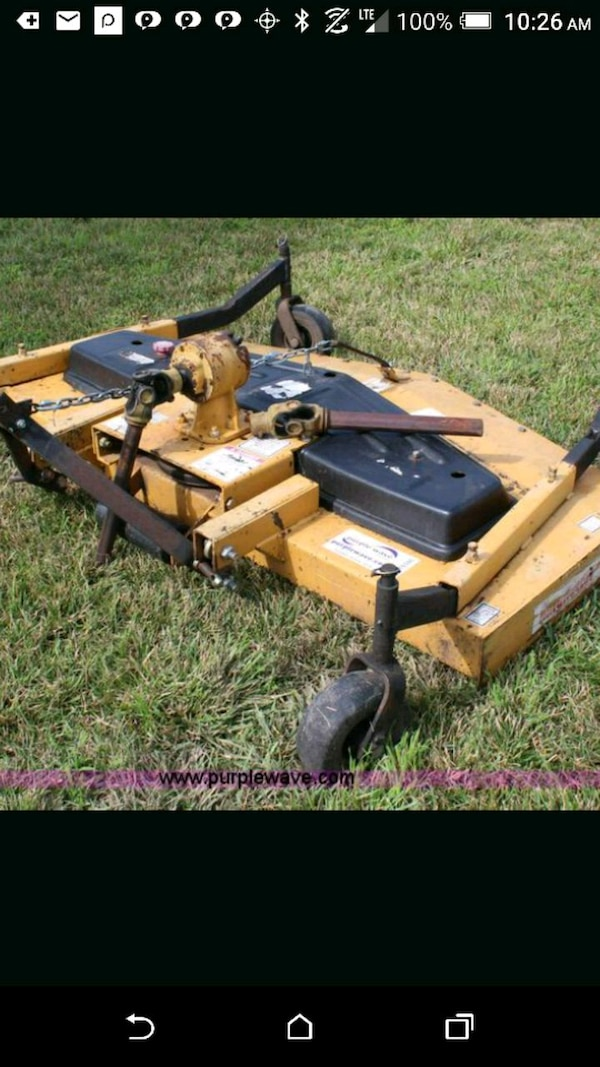 King Kutter finishing mower deck 3 point hitch