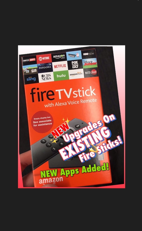 Reprogram-Upgrades On Fire Sticks (NEW APPS ADDED)