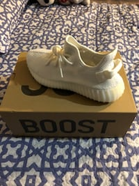Pair of white adidas yeezy boost 350 Adelphi, 20783