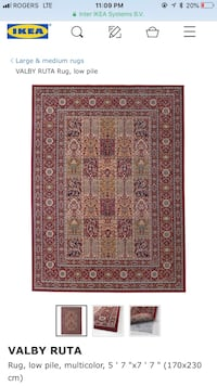 brown and black floral area rug Smithville, L0R