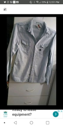 Parasuco lady jeans shirt Small