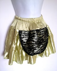 lace satin pettiskirt S/M Burnaby
