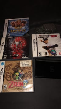 Nintendo DS plus 4 games Washington, 20002