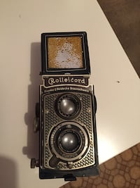Antique Rolleicord camera