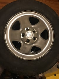 Set of 4 Winter Michelin Ice X Tires & Rims