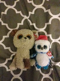 Plush toys from ty brand