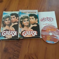 Grease vhs with screenplay Ladson, 29456