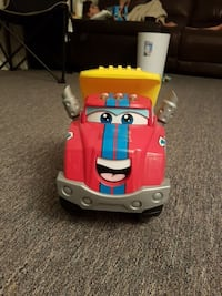 toddler's yellow, blue, gray, and red toy car Burnaby, V5H 2V8