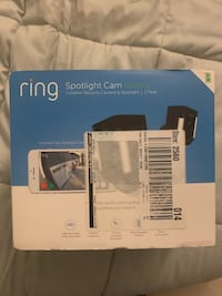 Brand New Ring outdoor spotlight cam (2 pack) (wireless) $350 retail  Rockville, 20850