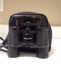 black Lasco ZP binoculars with case 1624 mi