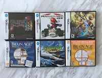 Six assorted Nintendo DS games Toronto, M4Y 1T1