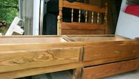 Twin bed with drawers Hamilton, L9H