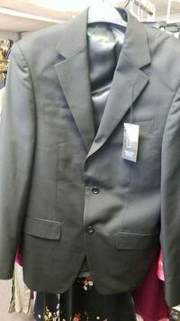 men's gray formal suit jacket, size 36/30 St. Catharines, L2P 2T1