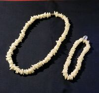 Shell Necklace with Bracelet  Woodlawn, 21244