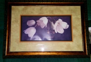 Wood frame picture
