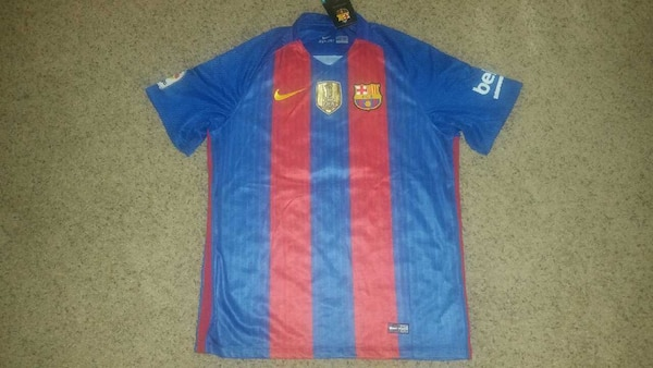 62f3e2b7a Used Brand new with tags FC Barcelona Messi 2016 2017 for sale in Upland -  letgo