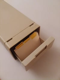 Card File for 3 x 5 Cards Scotch Plains, 07076
