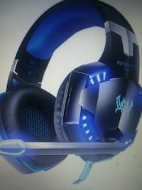 black and blue gaming headset Sterling, 20164