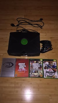 Xbox, controller, and 4 games Washington, 20024