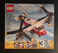 LEGO Creator 3 in 1 Twinblade Adventures Set 31020 - NEW AND UNOPENED