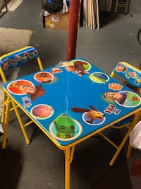 Toy Story kid's table $25OBO 3128 km