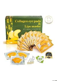 Collagen Eye pads  and lip mask Lochearn, 21207