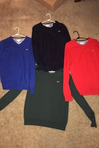 Lacoste sweaters (size medium) Randallstown, 21133