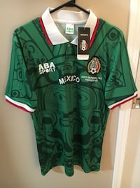 Mexico Retro green soccer jersey Winnipeg, R3T 3H2