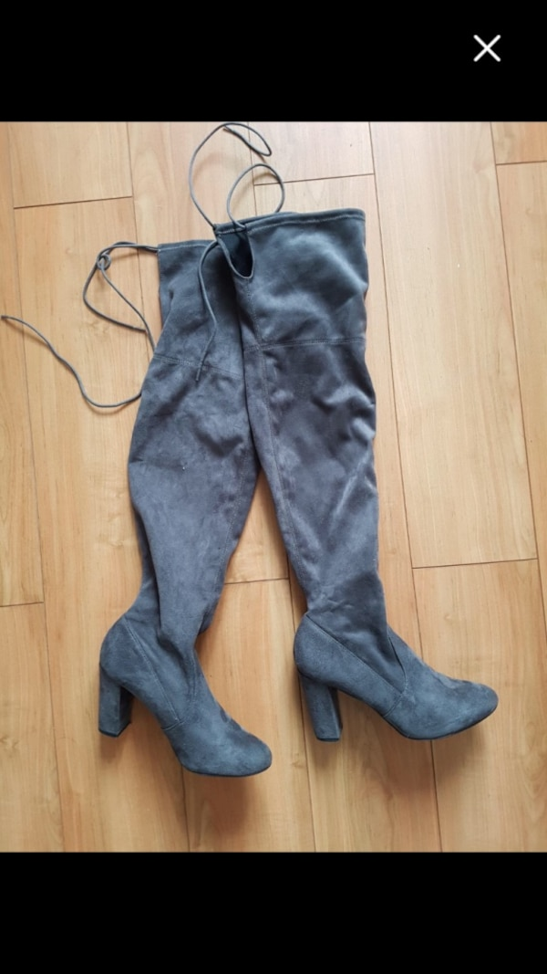 Over knees Suede boots 6