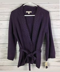 Merona Women Purple Knit  Sweater Germantown, 20876