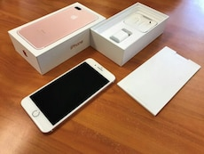 Rose Gold iphone 7 plus SE with box