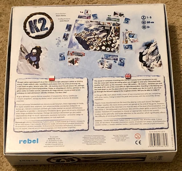 K2 Strategy Board Game 8+ 1