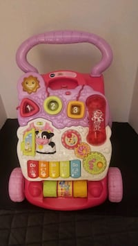 VTECH SIT TO STAND LEARNING WALKER PINK Saint Petersburg